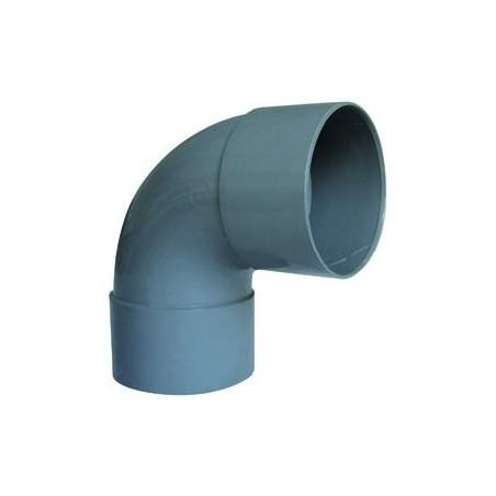 INTERPLAST - COUDE EN PVC FF ANGLE 87°. Ø 100 mm