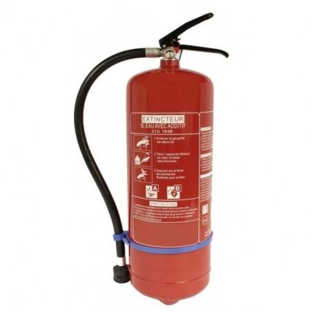 Extincteur eau pulvérisée 9L-Classe de feu ABE-Pression permanente