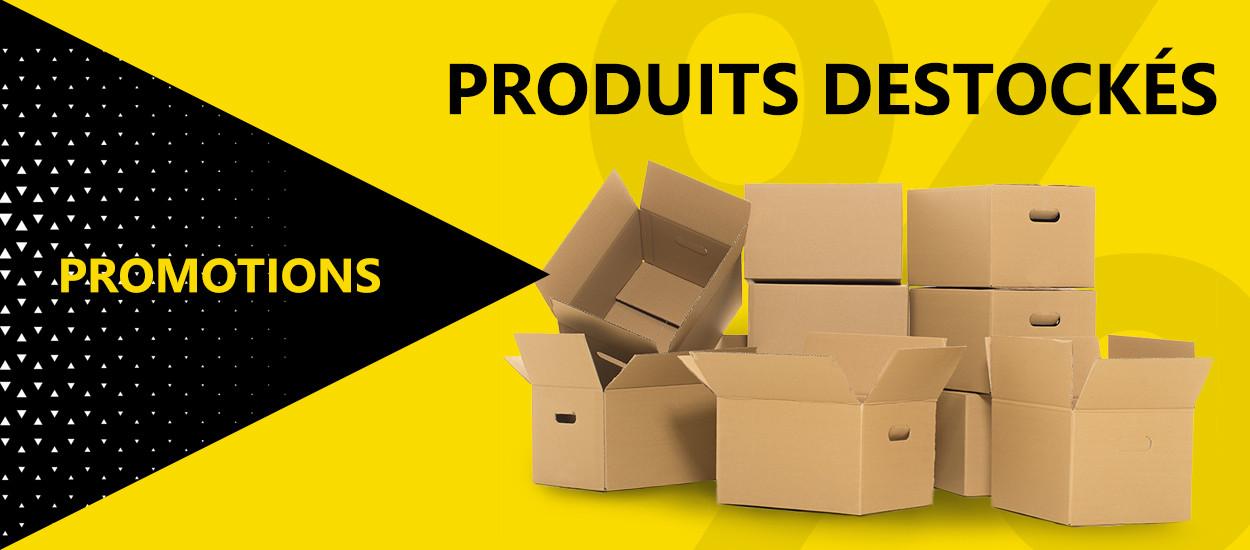 Produits déstockés et promotions